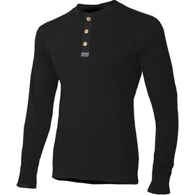 Aclima WarmWool Granddad Shirt Herr jet black